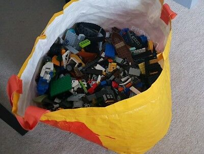 Genuine Lego Bundle 1kg-1000g Mixed Bricks Parts Pieces Set Bulk JobLot toy kids
