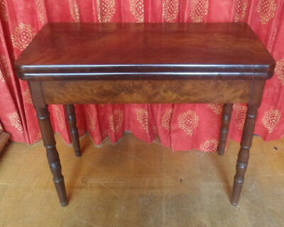 Antique Swivel Top Card Table - Side Table