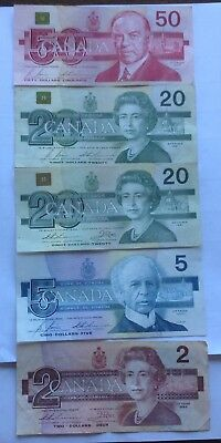 Canadian papers money