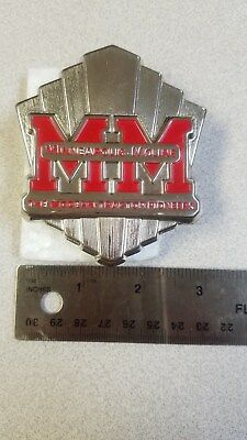 Minneapolis Moline  Tractor Hood Ornament Never Used