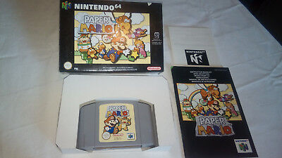 Paper Mario Nintendo 64 PAL Version Excellent Condition