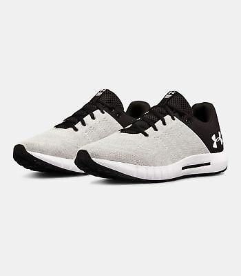 Under Armour Mens UA Micro G Pursuit Running Shoes Mens Shoes Gray/Black