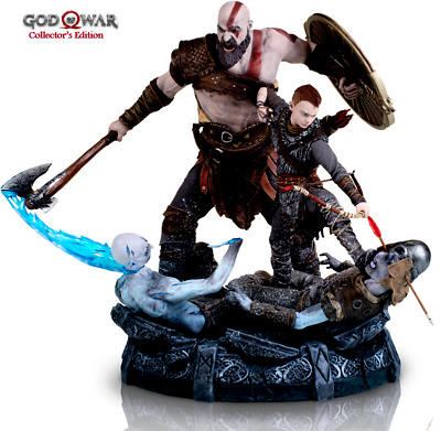 God Of War 4 Collector's Edition KRATOS & ATREUS Statue | BRAND NEW | Ships Fast