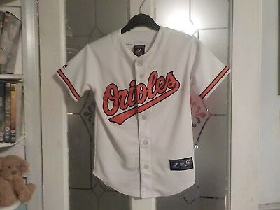 Baltimore Orioles Baseball Jersey, Small/Med Child, Davis 19