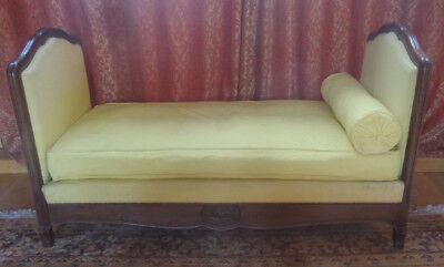 Antique French Extending Sofa, Childs Bed Or Single Bed Or Day Bed