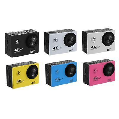 F60R 4K WIFI Action Camera 1080P 16MP 30m Waterproof Lens DV with Remote Control