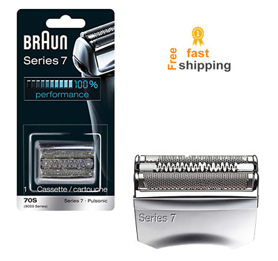 foil cassette replacement head for braun shaver trimmer for series 7 70S for men