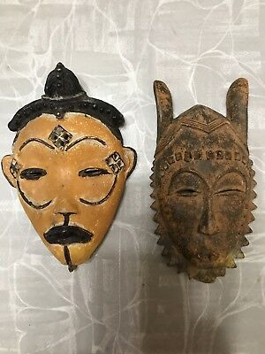 Two Small Native Masks