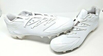 hot sale online c5c05 532f9 Adidas Freak X Carbon Low Football Cleats Mens Size 18 White on White Q16055
