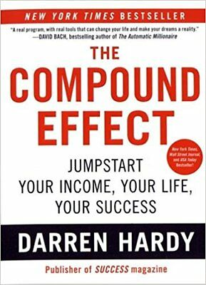 The Compound Effect by Darren Hardy + FREE GIFT: Atomic Habits ^Original eB00ks^