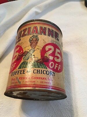 Luzianne Vintage Coffee Can