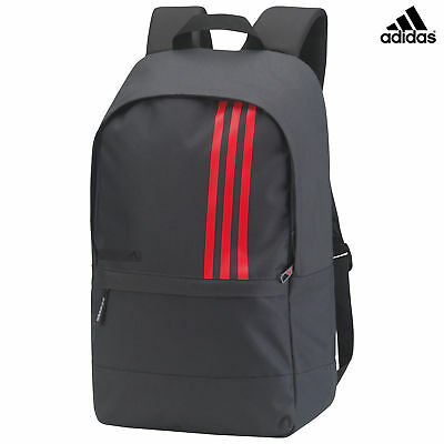Adidas 3-Stripe Small Backpack-sports/work/school bag with multiple compartments