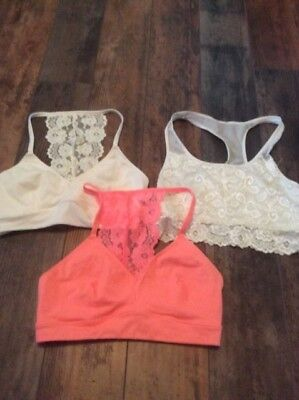 Lot Of Girls Justice Bras Size 34A