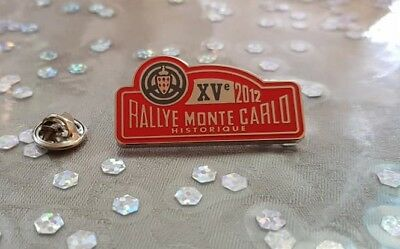 PIN'S RALLYE HISTORIQUE de MONTE-CARLO 2012 / CAR MONACO 2012 PIN BADGE A.C.M.