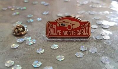 Pin's Rallye Monte-Carlo 2018 / Car Monaco 2018 Pin Badge A.c.m.