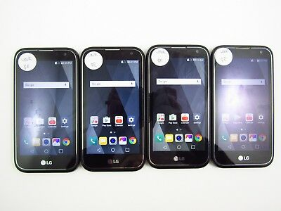 Lot of 4 LG K3 2017 US110 Unknown Carrier Check IMEI Grade C 3-1541