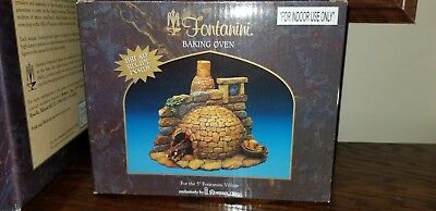 Fontanini Lighted Baking Oven.   #55511.   Mint condition. New in box.