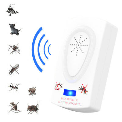 Ultrasonic Pest Reject Insect Killer Anti Mosquito Electronic Mice Repeller