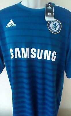 BRAND NEW, WITH TAGS Chelsea fc 2014/15 home shirt, XXL adults