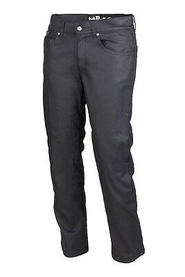 Bull-it Mens Oil Skin Protective Motorcycle Jeans