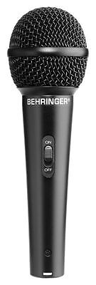 Behringer XM1800S 3 Dynamic Cardioid Vocal Microphones (Set of 3) XM 1800 S