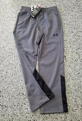 New Under Armour Youth Boys Gray Long Pants Sweatpants Size: Small