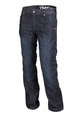 Bull-it SR6 Federal Red Protective Motorcycle Jeans