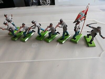 Britain Deetail Confederate Infantry