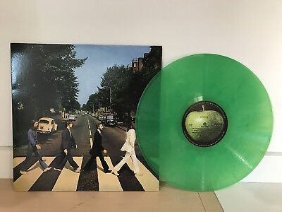 The Beatles - Abbey Road -  New 180G Green Colored Vinyl Lp Record