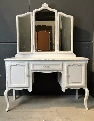 Vintage French Dressing table / Painted French   shabby chic style (VB322)