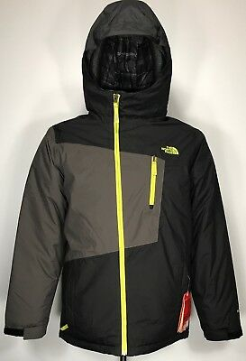 Boys North Face Waterproof Gnzo Insulated BLACK Jacket (X-LARGE 18-20)