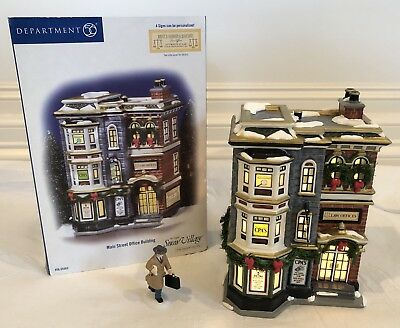 EUC Department 56 Main Street Office Building W/ Business Person #5655363