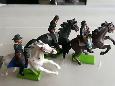 Britains Deetail  ACW Union Cavalry made in 1970s
