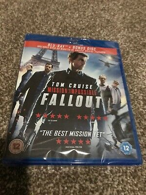 MISSION:IMPOSSIBLE - FALLOUT (Blu-ray *NEW/SEALED* Tom Cruise
