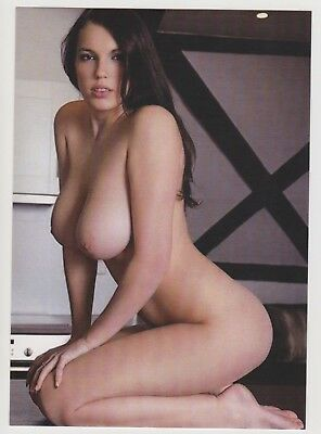Postcard Pinup Risque Nude Stunning Girl Extremely Rare LAST ONE PostCard 8316