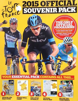 Tour De France 2015 Official Programme Cycling English Version Chris Froome