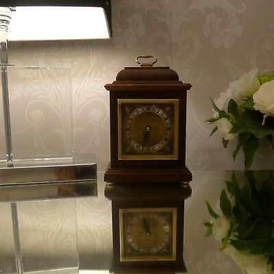 ELLIOTT BRACKET CLOCK BY GARRARD * Co