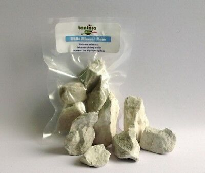 Tantora White Mineral Stone Montmorillonite Rock 100g Crystal Red Bee Shrimp RCS