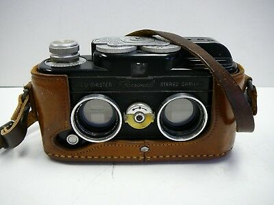 Vintage Sawyer's View Master Personal 3D Stereo Camera Works No Reserve