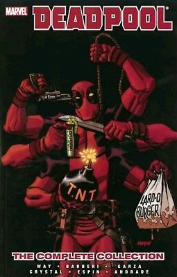 Deadpool by Daniel Way: The Complete Collection Volume 4 - Brand New