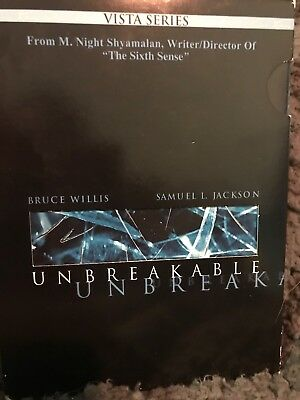 Unbreakable DVD Region 1