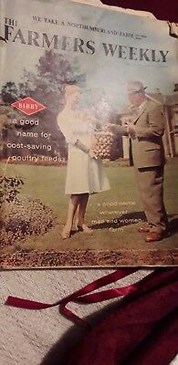 Farmers Weekly Magazine 1960 Pages In Total 147