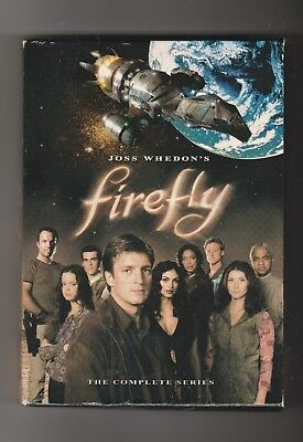 Firefly - The Complete Series DVD Box Set ~ Widescreen ~ 14 Episodes 4 Discs