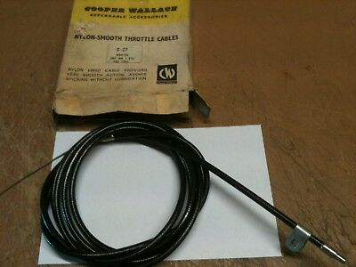 Hillman Imp Mk1 nylon smooth throttle cable inner & outer C27 Rootes