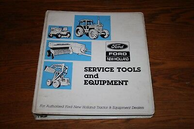 Ford Tractor Service Tools and Equipment Binder and Information