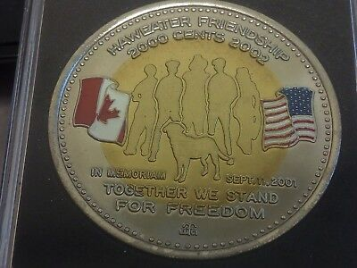Scarce 2002 Manitoulin Island On Trade Token 2000 Cents