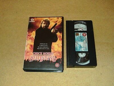 Hellbound - Ex-Rental Big Box VHS Video Chuck Norris Action Cannon