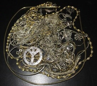925 Sterling Silver Scrap Jewelry 177 Grams No Stones
