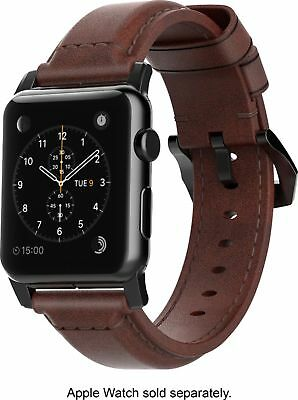 Nomad - Classic Leather Watch Strap for Apple Watch38mm - Brown NEW IN BOX