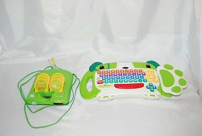 Leap Frog Click Start My First Computer Complete Console Keyboard 6 Games